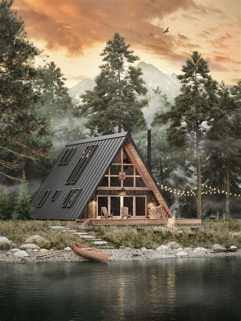 Build your own beautiful and sleek flat-pack cabin with