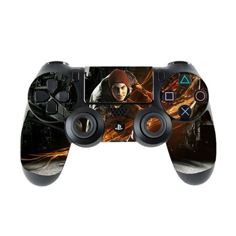 Skin na Dualshock 4 s motívom hry inFamous: Second Son